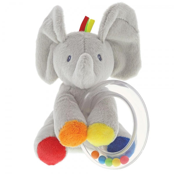 Baby Gund Flappy the Elephant Soft Toy Rattle