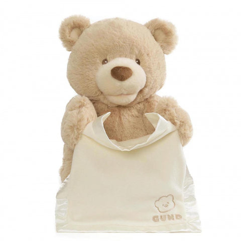 Gund Peek A Boo Bear Soft Toy New with Tags