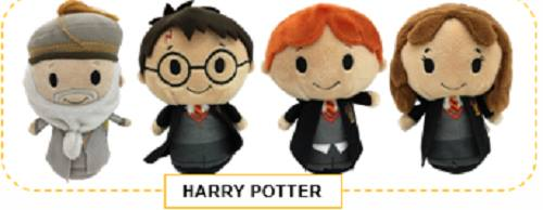 Hallmark Harry Potter Itty Bitty Set Harry Potter, Hermione, Ron Weasley, Dumbledore New