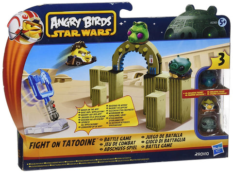 Star Wars Angry Birds Battle Game Fight On Tatooine By Hasbro NEW