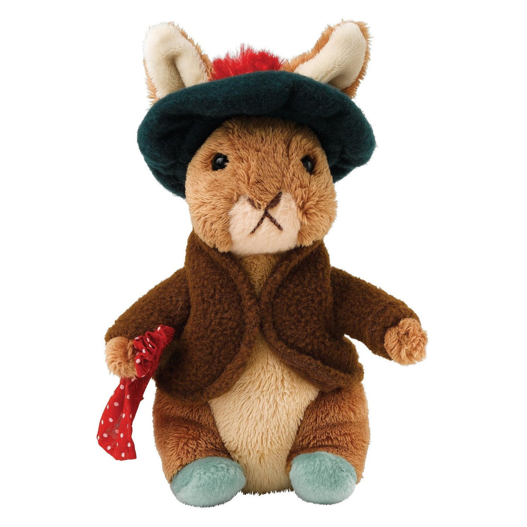 Beatrix Potter Benjamin Bunny Soft Toy Small 18cm Peter Rabbit Collection