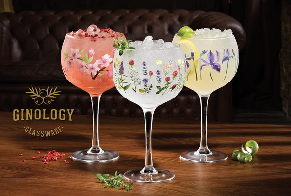 Ginology Juniper Copa Gin Glass Set of Two