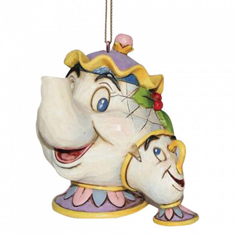 Disney Traditions MRS POTTS & CHIP ORNAMENT A21431