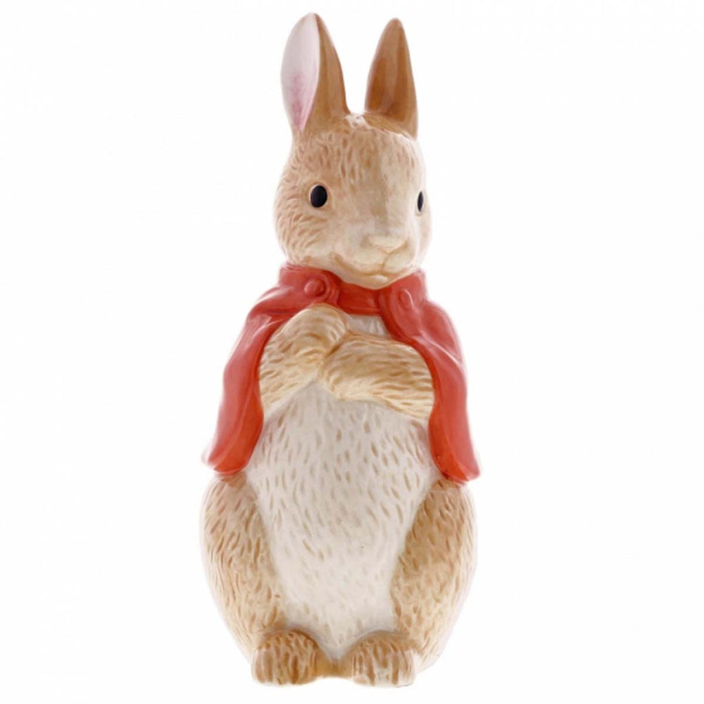 Beatrix Potter Peter Rabbit FLOPSY SCULPTED MONEY BANK A29293