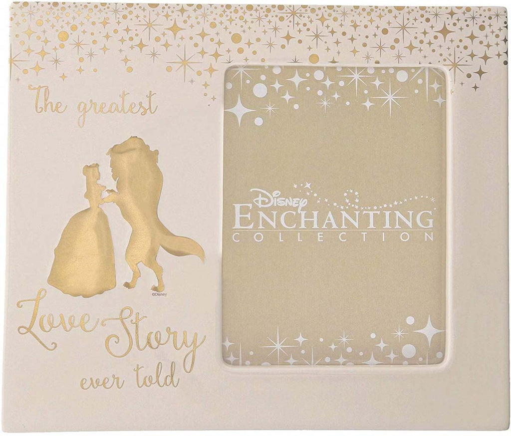 Enchanting Disney Collection BELLE WEDDING PHOTO FRAME A29334