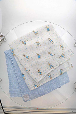 Beatrix Potter  PETER MUSLIN SQUARES (SET 3) A29582