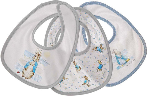 Beatrix Potter  PETER RABBIT BIB (SET OF 3)  A29586