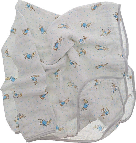 Beatrix Potter  PETER RABBIT BLANKET A29644