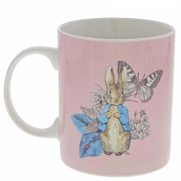 Beatrix Potter  PETER RABBIT MUG (PINK) A29749