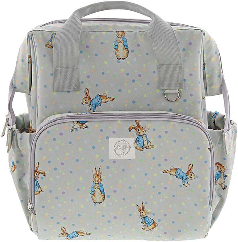 Beatrix Potter  PETER RABBIT CHANGING BACKPACK A29867