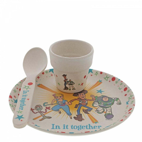 Enchanting Disney Collection TOY STORY 4 BAMBOO EGG CUP SET A29966