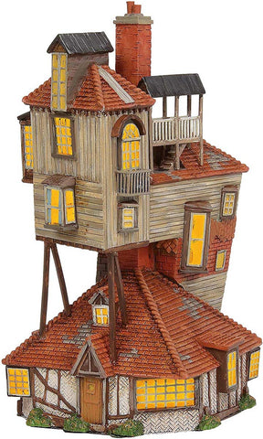 Harry Potter Village Weasley Family House THE BURROW A29975
