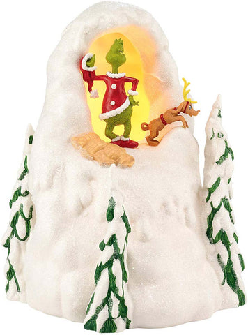 Grinch Village by D56 MT CRUMPIT - UK ADAPTOR A30168
