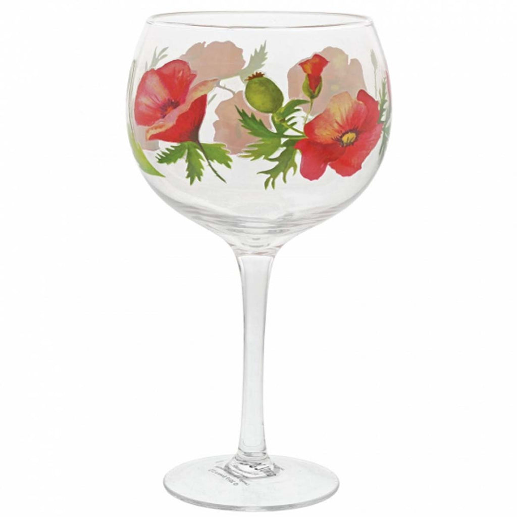 Ginology POPPIES COPA GIN GLASS A30183