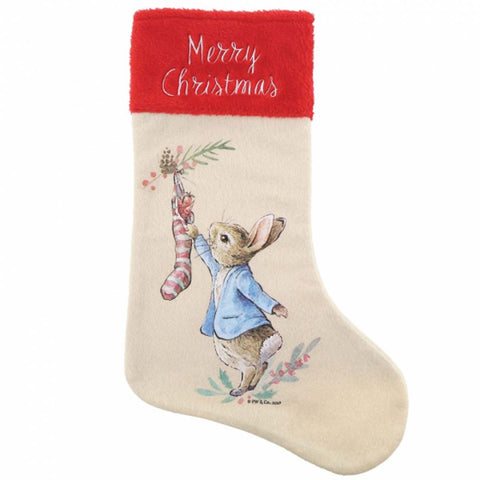Beatrix Potter PETER RABBIT XMAS STOCKING A30190