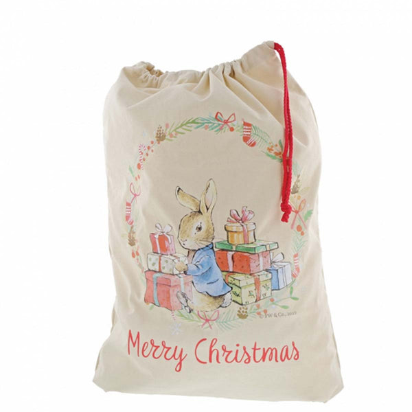 Beatrix Potter PETER RABBIT CHRISTMAS SACK A30191