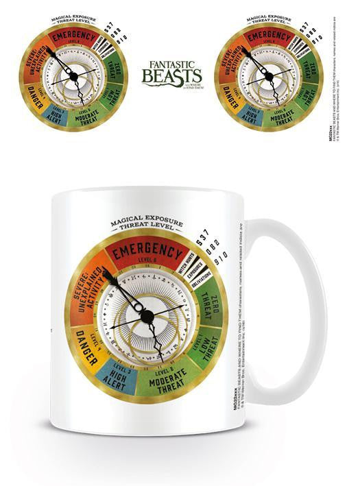 Fantastic Beasts Threat Level Ceramic Mug