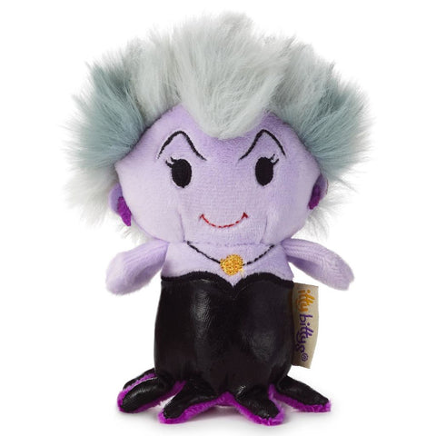 Disney Ursula Itty Bitty soft Toy Brand New