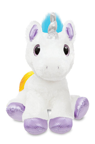 Aurora Sparkle Tales Dazzle Unicorn Soft Toy Multi-Colour 12""