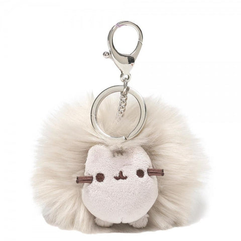 Pusheen Grey Pom Keyring Bag Charm