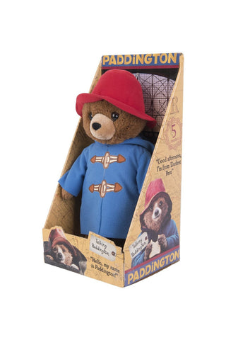 Paddington Bear The Movie Talking Soft Toy 30cm