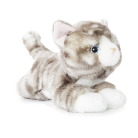 Aurora Luv To Cuddle Grey Tabby Cat Soft Toy 28cm