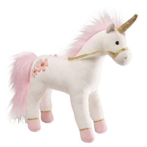 GUND Lily rose Unicorn Soft Toy 33cm