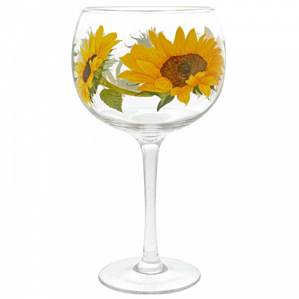 Ginology SUNFLOWER COPA GLASS A29733