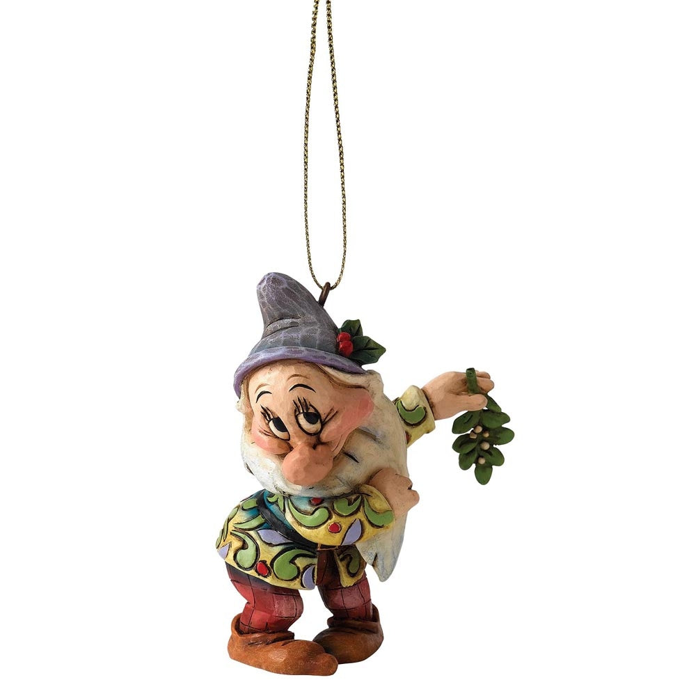 Disney Traditions Bashful Dwarf Christmas Hanging Ornament
