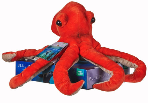 BBC Earth Blue Planet II OCTOPUS Soft Toy 12457PP