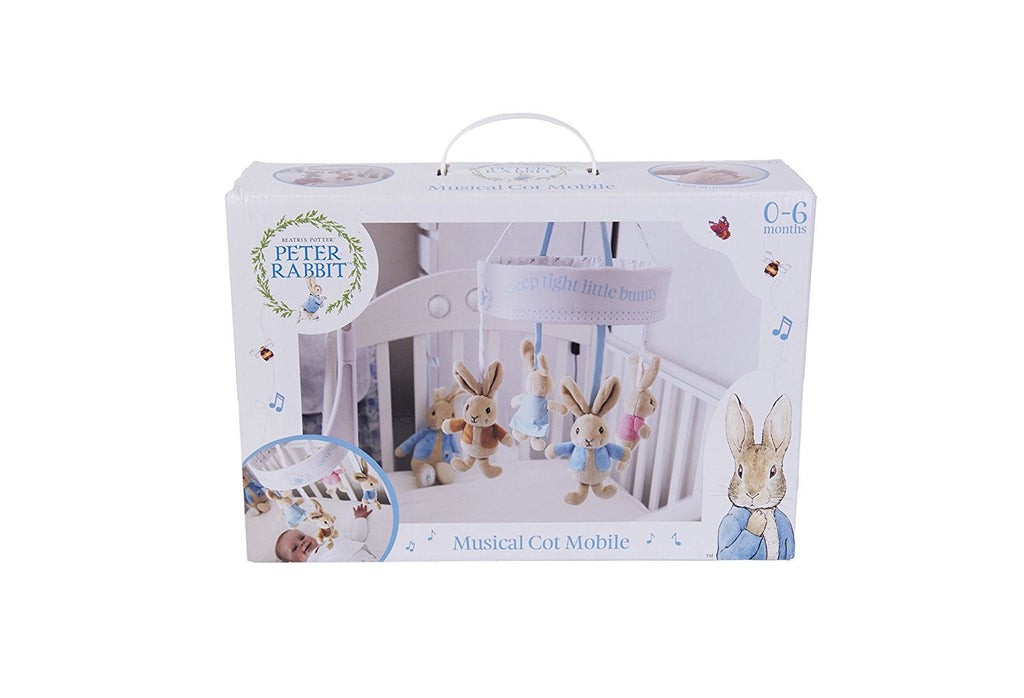 Beatrix Potter Peter Rabbit Musical Cot Mobile