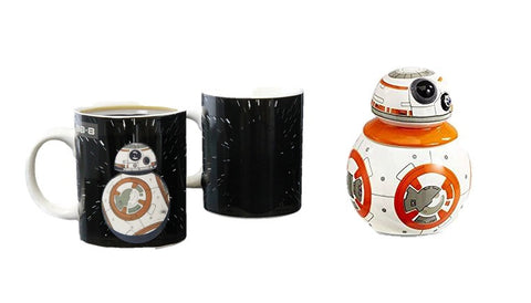 Star Wars BB 8 Heat Mugs and Egg Cup Set
