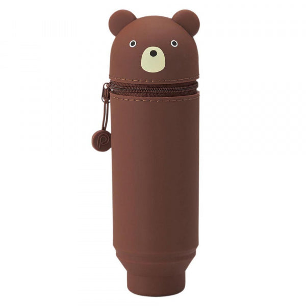 Stand Up Pen Case - Bear New