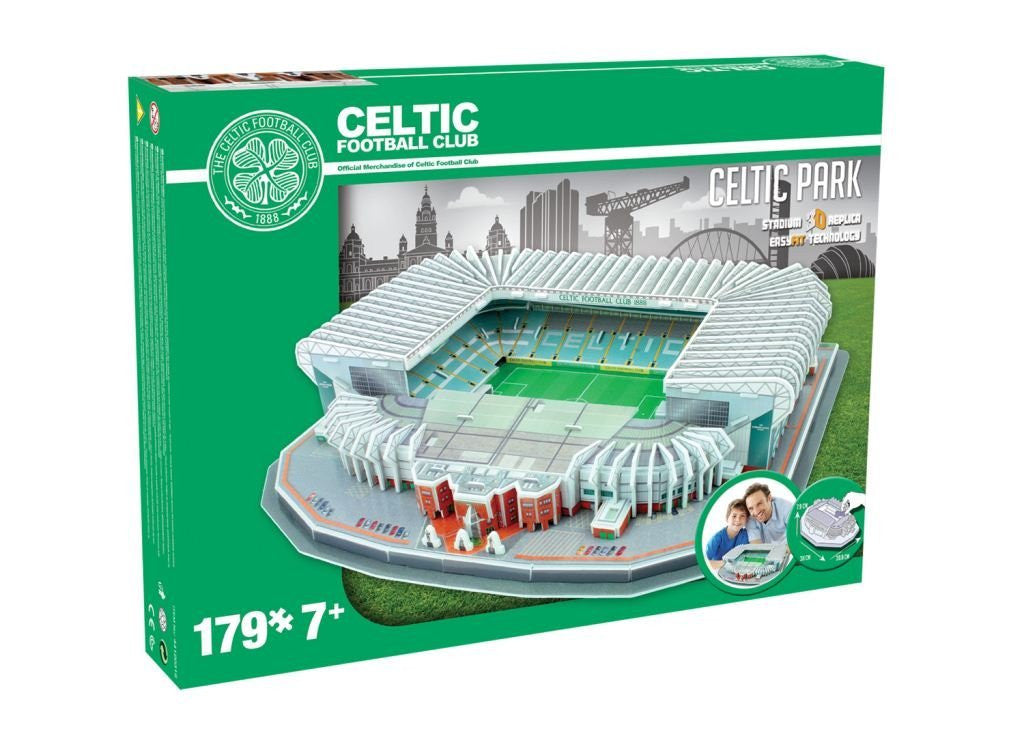 Celtic Park Stadium 3D Puzzle Paul Lamond Boxed