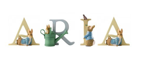 Beatrix Potter Alphabet Letters 'Aria' Set