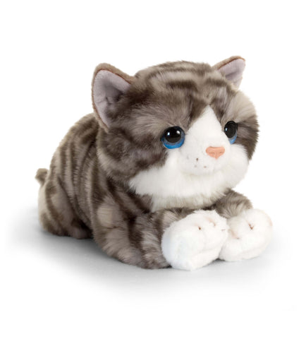 Keel Signature Cuddle Kitten Grey 32cm