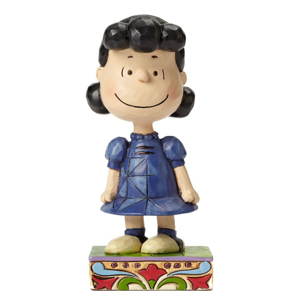 Peanuts Little Miss Fussbudget  Figurine by Jim Shore  12.5cm