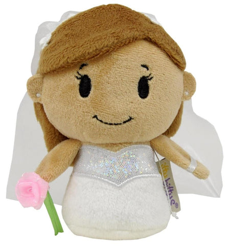 Bride Itty Bitty Beanie Soft Toy 12cm