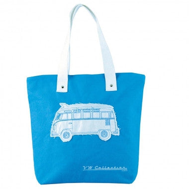 VW Canvas Shopper Bag Blue
