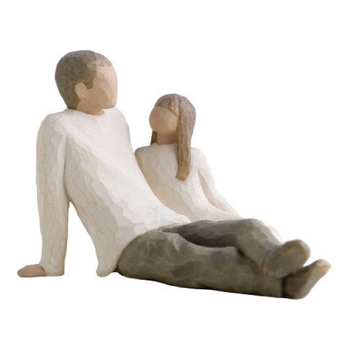 Willow Tree Figurine Father And Daughter 11.5cm