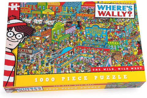 Where's Wally Wild Wild West 1000 Piece Jigsaw Puzzle by Paul Lamond Puzzles