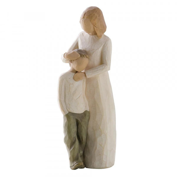 WILLOW TREE FIGURINE MOTHER AND SON 21cm