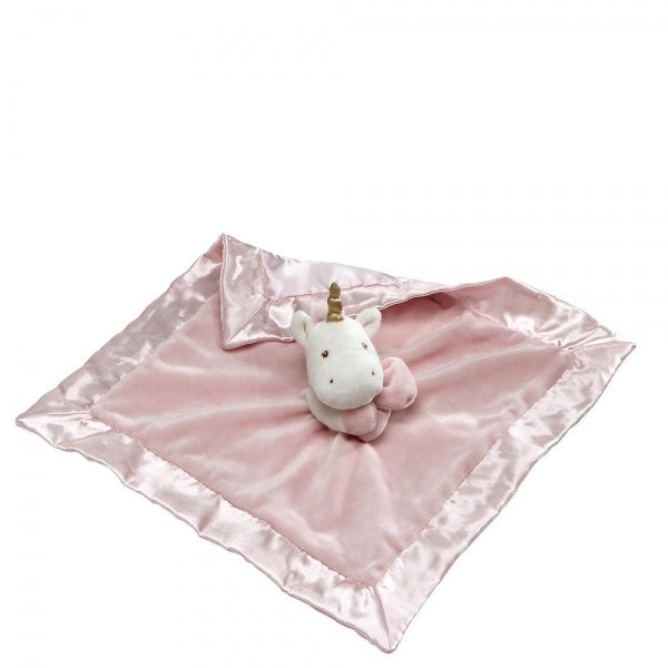 Baby Gund Luna The Unicorn Satin Backed Comforter