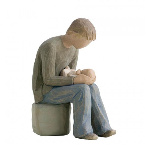 WILLOW TREE FIGURINE NEW DAD 14 cm