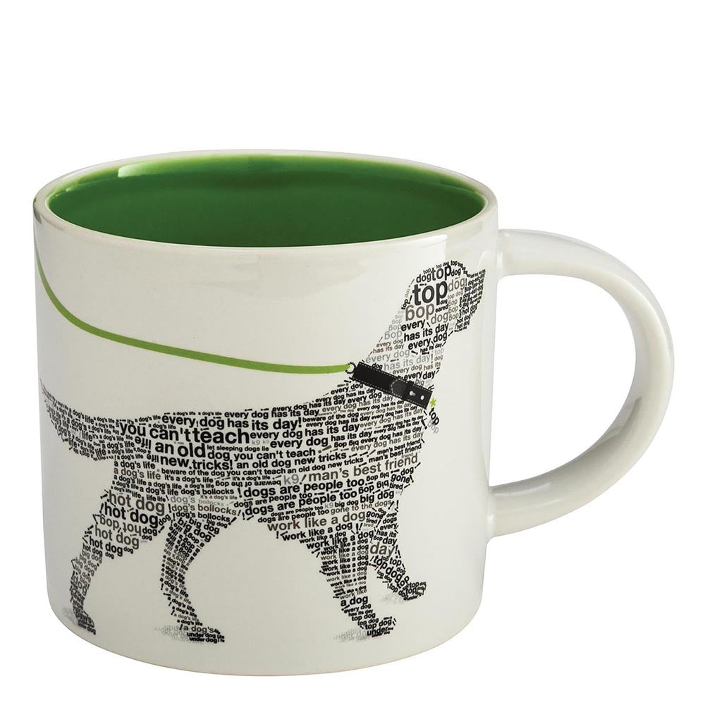 Wild about Words Pet Collection Retriever Mug