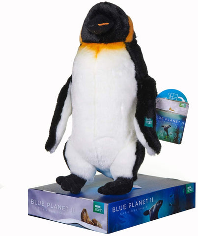 BBC Earth Blue Planet II EMPEROR PENGUIN Soft Toy 12458PP