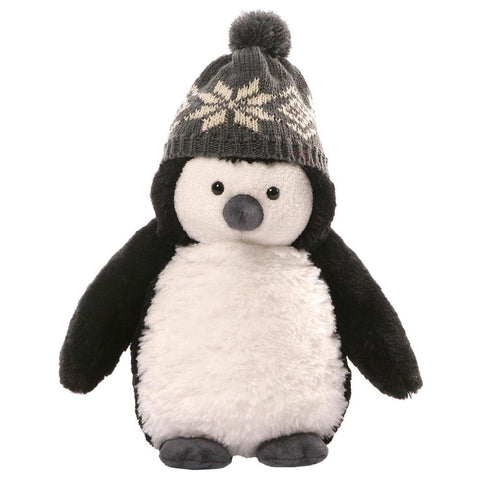Christmas Puffers Penguin 25cm Plush Soft Toy