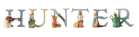 Beatrix Potter Alphabet Letters 'Hunter' Set