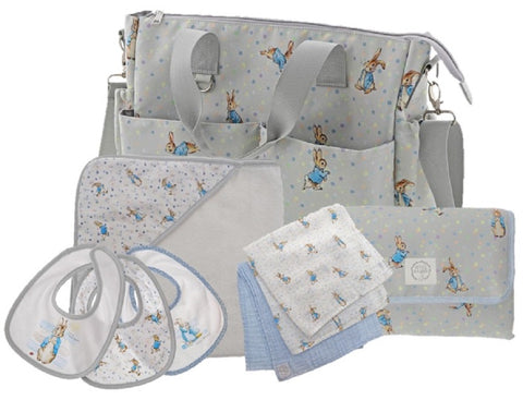 Peter Rabbit Baby Collection Changing Bag Gift Set Shoulder bag 36cm
