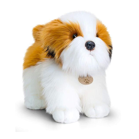 SHIH TZU 30cm Standing Dog Soft Toy by Keel Toys